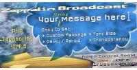 Broadcast zeppelin instant messages