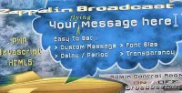 Broadcast zeppelin instant messages