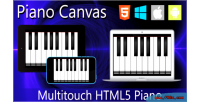 Canvas piano html5