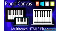 Canvas piano html5