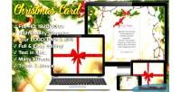 Card christmas magic gift