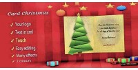 Card christmas effects many with