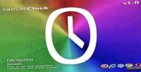 Clock canvas