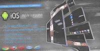 Dock html5 menu gallery