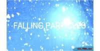 Falling particles snow balloons etc and