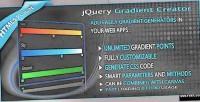 Gradient jquery creator