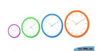 Html5 canvas & javascript clock analog based