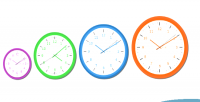 Html5 canvas & javascript clock analog based