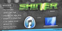 Shiner html5 canvas glow plugin jquery effects