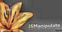 Jquery jsmanipulate plugin manipulation image