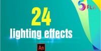 Light 24 effects adobe cc animate