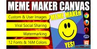 Maker meme canvas
