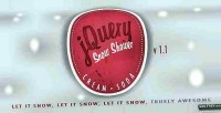Soda cream responsive shower snow html5