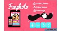 Stickers funphoto canvas html5 app
