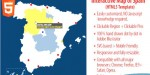 Map interactive html5 spain of