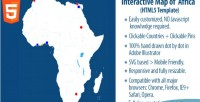 Map interactive of africa