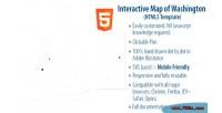 Map interactive of washington