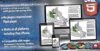Map responsive html5 canada of