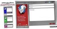Ajax html5 jquery form contact popup