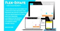 Flex estate responsive form property find to