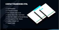 Framework contact html