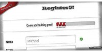 Html5 register5 register form