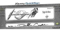 Quicksign jquery plugin signing html5