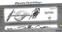 Quicksign jquery plugin signing html5