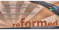 Themeable reformed form builder