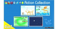 01smile action games collection 1 4 1 in