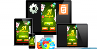 21 blackjack game casino html5