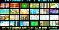 24 games in 1 capx bundle