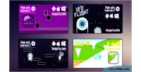 4 html5 games bundle capx 2