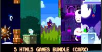 5 html5 pixel games capx bundle