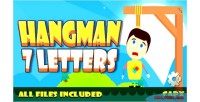 7 hangman letter game html5 admobs capx