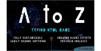 A to z type to shoot game html5 typing