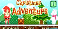Adventure christmas html5 game