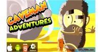 Adventures caveman html5 capx game