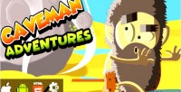 Adventures caveman html5 capx game