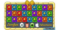 Adventures jungles 2018 mobile html5 capx game