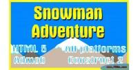 Adventures snowman