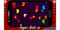 Agar ball html5 mobile game construct capx 2