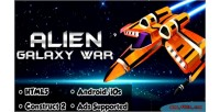 Alien galaxy war html5 capx android