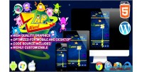 Aliens zap game arcade html5