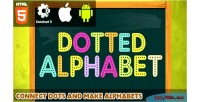 Alphabet dotted html5 capx game