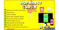 Alphabet the clock capx template