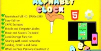 Alphabet the clock capx template