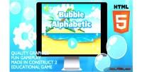 Alphabetic bubble educational