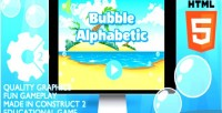 Alphabetic bubble educational