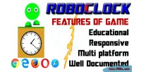 Analog roboclock clock digital to